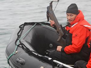 Putin-water-boat